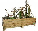 Wood Flower Planter L thumbnail