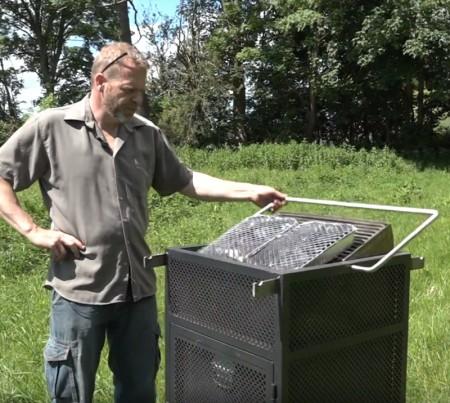 Park grill - sikkerhetsgrill